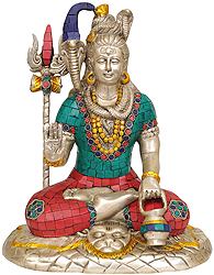 Lord Shiva Seated on Lion Skin
