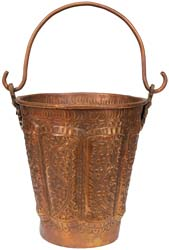 Floral Puja Bucket