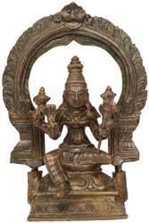 Goddess Lalita (Tripura-Sundari)