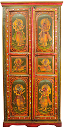 Lord Ganesha Temple Cupboard
