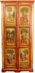 Radha Krishna Cupboard