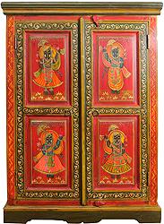 Shrinathji (Lord Krishna) Cupboard