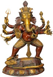 Ganesha the Spiritual Warrior