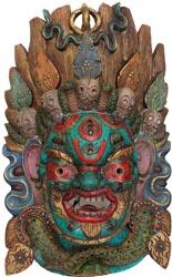 Mahakala Wall Hanging Large Mask
