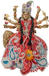 Mother Goddess Durga with Costume