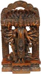 Lord Vishnu in His Cosmic Incarnation