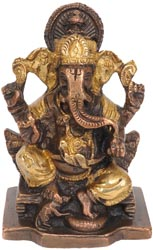 Lord Ganesh (Small Statue)