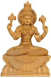 Four-Armed Lakshmi, The Goddess of Abundance