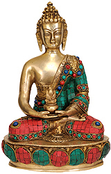 Buddha in The Dhyana Mudra