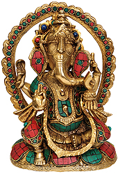 Inlay Ganesha