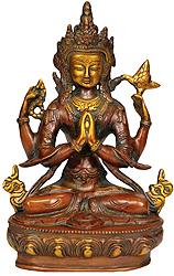 Chenrezig (Four Armed Avalokiteshvara)