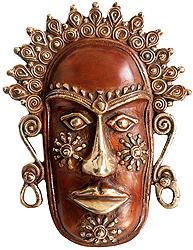 Tribal Wall Hanging Mask
