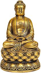 Japanese Buddha in Dhyana Mudra
