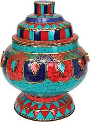Ritual Buddhist Vase