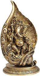 Conch Ganesha