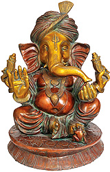 Turbaned Ganesha