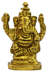 Lord Ganesha (Small Statue)