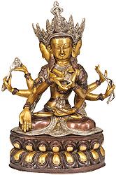Ushnishavijaya: The Goddess Victorious Over Death