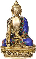 Lapis Buddha of Healing (Medicine Buddha)
