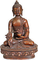 Medicine Buddha (One Who Heals with Herbs)