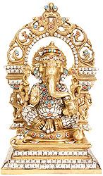 Bhagawan Ganesha Granting Abhaya
