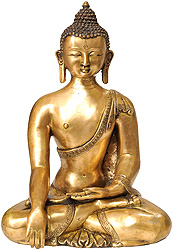 Buddha in the Bhumi-Sparsha Mudra