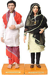 Muslim Man and Woman From Delhi