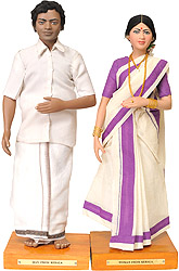 Man and Woman from Kerala