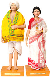 Man and Woman From Assam