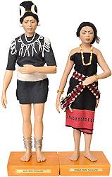 Man and Woman From Nagaland