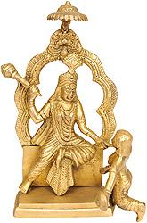 Mahavidya Bagalamukhi (Rare Statue)