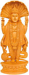 Standing Lord Vishnu