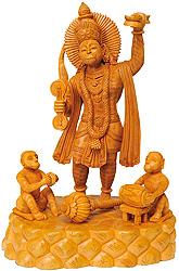 Hanuman Chanting Name of Lord Shri Rama