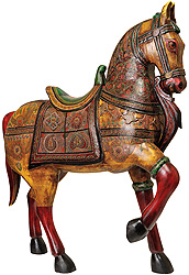 His Majesty, The Painted Wooden Horse