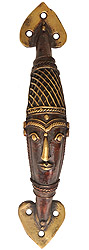 Tribal Door Knob (Folk Statue From Bastar)