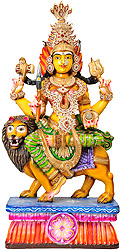 Goddess Durga in Shringar