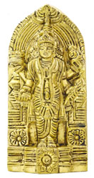 Small Statue of Vishnu Ji (Wall Hanging)