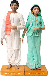 Man and Woman from Uttar Pradesh