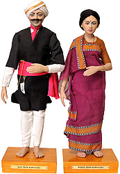 Man and Woman from Karnataka