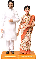 Man and Woman from Delhi