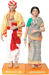 Man and Woman from Madhya Pradesh