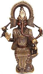 Lord Ganesha (Folk Statue from Bastar)