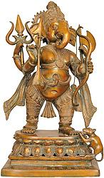 Ganesha The Spiritual Warrior