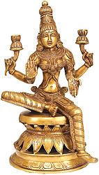 Goddess Lakshmi as Visualized in the Atharva Veda