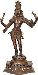 Vinapani Shiva as Pashupatinath