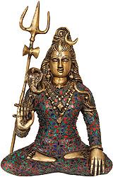 Bhagawan Shiva with Trident