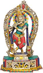 Krishna with Aureole