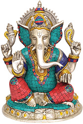 Four Armed Ganesha
