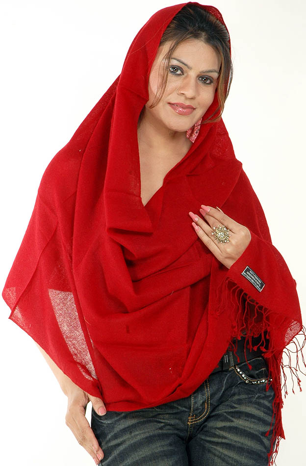 red wool scarf. Wool scarf, cotton scarves