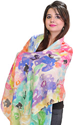 Multi-Color Digital Printed Stole